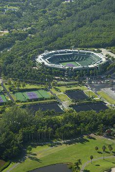 Crandon Park Tennis Center (Key Biscayne, Florida)