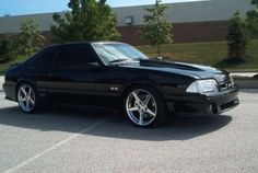 The 5.0.....Not a classic, but the only cool car around in my era... class of '98