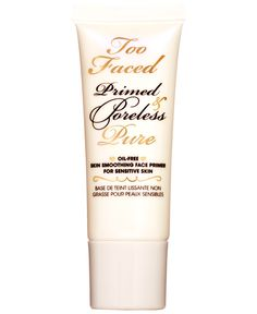 Too Faced Primed & Poreless Pure Oil-Free Skin Smoothing Face Primer