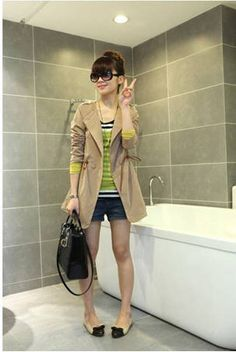 Hot Sale Women's Fashion Slim Trench Coat - BuyTrends.com