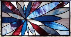 Star Flower Stained Glass panel by jcbonbon, via Flickr