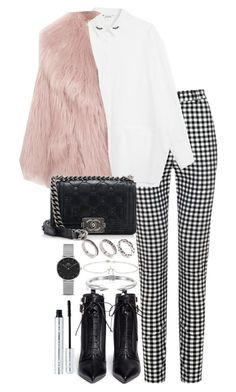 """Untitled #4971"" by theeuropeancloset on Polyvore featuring Monki, Miu Miu, Chanel, Sergio Rossi, ASOS, Jennifer Meyer Jewelry, Vita Fede, Daniel Wellington and 100% Pure Mode Outfits, School Outfits, Fashion Sets, Fashion Fashion, Fashion Outlet, Paris Fashion, Fall Fashion Trends, Fashion Brands, Runway Fashion"