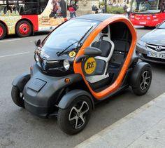 Renault 2 seater electric car