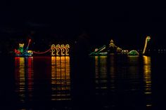 When I was a teenager, I always enjoyed watching the Electrical Water Pageant at night at Walt Disney World. So on our recent trip, we went to see it again. And once again, I enjoyed it. Read more about it at Burnsland.com!