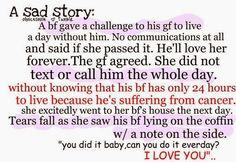 Short Sad Love Stories | I'm So Lonely...
