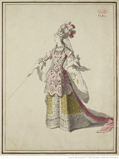 Madame de Pompadour (Mademoiselle Rochois in the Title Role of the...)