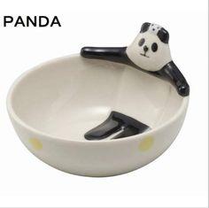Panda ONSEN Bowl (Small) $12.00 http://thingsfromjapan.net/panda-onsen-bowl-small/ #panda bowl #cute panda item #cute Japanese bowl