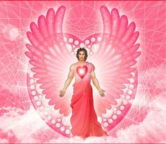 "Archangel Chamuel is known as the angel of unconditional love. He is the guardian angel of peaceful relationships name's meaning is ""The One Who Seeks God"" Angel Images, Angel Pictures, Seven Archangels, Angel Artwork, Angel Guide, Chakra Art, Cute Love Images, Angel Warrior, Twin Souls"