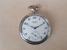 Nacar Pocket Watch, Swiss Made #swissmade