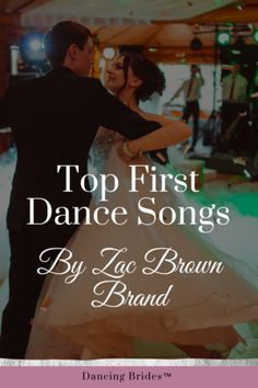 Planning the music for your wedding day is so much fun!  Your heart will melt when you listen to these love songs by Zac Brown Band! Classical Wedding Music, Unique Wedding Songs, Popular Wedding Songs, Wedding Songs Reception, Country Wedding Songs, Wedding Song List, Nontraditional Wedding, Wedding Dj, Wedding Bands