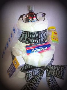 OvertheHill+Diaper+Cake+for+Birthday+or+by+MilestoneTreasures,+$45.00