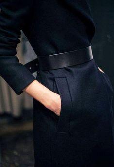 Et si l'on portait nos ceintures à l'envers sur nos manteaux d'hiver ?