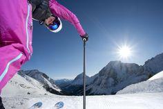 Skifahren Ehrwalder Alm