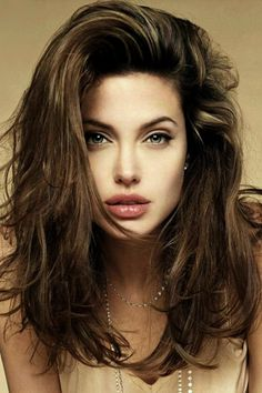 Angelina Jolie in Sexy Messy Hair