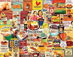 Breakfast (1000 Piece Puzzle by White Mountain)