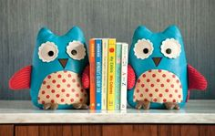 adorable weighted bookends perfect for a playroom