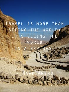 Learn a new way you see the world...Travel Differently...  Vedanta Wake up!