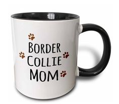 White ceramic mug with black interior and handle Image printed on both sides Available in 11oz only Microwave safe, hand-wash to preserve image High gloss finish