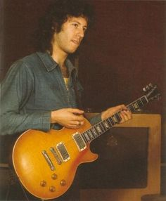 Peter Green and his Les Paul
