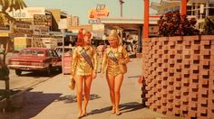 Gold Coast Meter Maids - look a bit different these days.