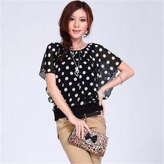 #aliexpress, #fashion, #outfit, #apparel, #shoes Free, #shipping, #Casual, #Batwing, #Sleeve, #Shirt, #Chiffon, #For, #Women, #2013, #Summer,Blouse, #Plus, #Size, #3XL, #4XL, #Tops, #Women, #Clothing, ##DH2047 http://s.click.aliexpress.com/e/6QVjiAyj2