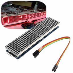 3Pcs MAX7219 Dot Matrix Module 4-in-1 Display For Arduino