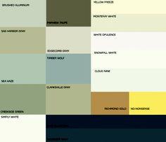 Ben. Moore exterior paint inspiration