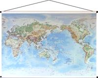34 best maps images on pinterest chart gifts for travelers and physical world canvas map gumiabroncs Choice Image
