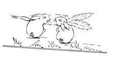 Cute Rabbit Embroidery Design