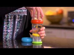 Take N' Shake Baby Bottle with Integrated Formula Compartment - Full Demo - YouTube