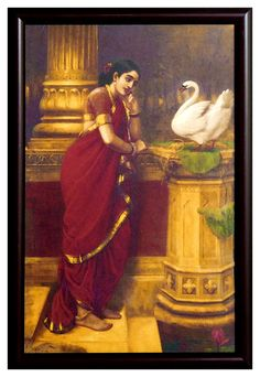 She was peshwa bajirao's first wife. He married Indian Muslim mastani and gave her all the love totally forgetting about Kashi. Ravivarma Paintings, Indian Art Paintings, Classic Paintings, Beautiful Paintings, Best Friend Quotes Deep, Indian Women Painting, Painting Of Girl, Hindu Art, Great Artists