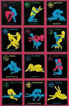 Zodiac Lovers Black Light Posters, Black Lite posters, Blacklite ...