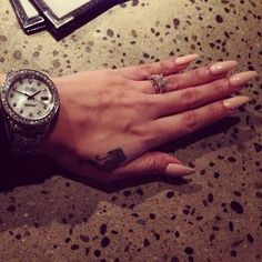 #nails #watch #ring