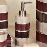 Fabulous Luxurious Bathroom Design Ideas You Need To Know Modern Line Burgundy Striped Bath Accessories with regard to Fabulous Luxurious Bathroom Design Ideas You Need To Know Nautical Bathroom Decor, Bathroom Decor Sets, Wooden Bathroom, Bathroom Colors, Burgundy Bathroom, Purple Bathrooms, Maroon Bathroom, Bathroom Decor Pictures, Bathroom Accents
