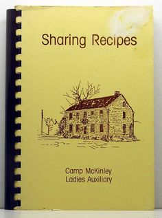 Sharing Recipes Camp McKinley Ladies by ClassicOldCookbooks, $9.99