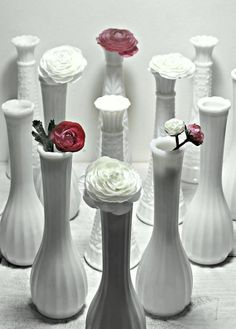 always new ways to use my hobnail vases