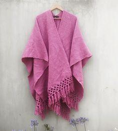 Poncho Woman One Size Dalia Mexican Design, Boho, Kimono Top, Women, Fashion, Ponchos, Fabrics, Moda, Fashion Styles