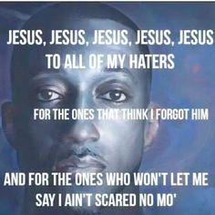 I ain't scared no mo'