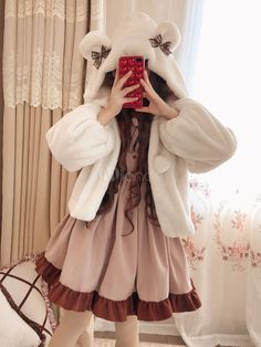 Now that is the cutest thing ever Harajuku Fashion, Kawaii Fashion, Lolita Fashion, Cute Fashion, Girl Fashion, Fashion Outfits, Rock Fashion, Fashion Boots, Japanese Outfits