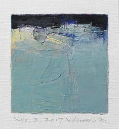 Nov. 2 2017 Original Abstract Oil Painting 9x9 painting