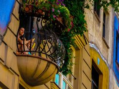 Austria balcony travel