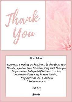 33 Best Funeral Thank You Cards Sympathy Thank You Cards