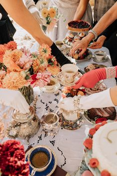 Throw on a fab table cloth and then layer on the decoration for that perfectly glam tea party I Cup, My Cup Of Tea, Youre Invited, High Tea, Tea Party, Bridal Shower, Tea Cups, Picnic, Merry