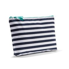 Zipper Pouch in Navy Wave.for cloth wipes Thirty One Totes, Thirty One Gifts, 31 Gifts, Dress Up Outfits, Life Organization, Staying Organized, Beach Trip, Zipper Pouch, Baby Love