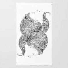 hair Area & Throw Rug by creaziz - $28.00