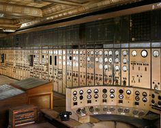 Credit: Michael Collins Control room A, also known as the auxiliary control room