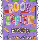 Everything you need to teach the basics of a Book Review for First - Fifth grade! This bundle includes graphic organizers, anchor papers, and much more!