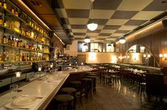 The lustrous dining room at Acme, NYC