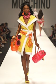 The best looks from Moschino spring-summer 2015 - Barbie inspiration