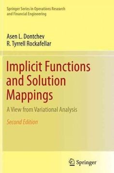 27 best variational approach to boundary value problems images on implicit functions and solution mappings a view from variational analysis fandeluxe Images